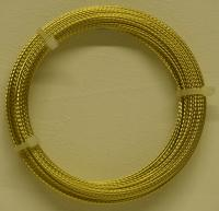 Cheesewire Gold Braided 50m