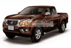 NISSAN NAVARA 2016-on TAILGATE PRIVACY WINDOW