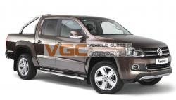 VW AMAROK 2011-17 DOUBLE CAB RIGHT REAR PRIVACY WINDOW