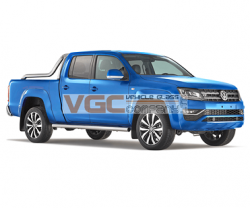 VW AMAROK 2017-on DOUBLE CAB LEFT REAR PRIVACY WINDOW