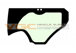 HITACHI ZX130-6 DOOR LOWER Green