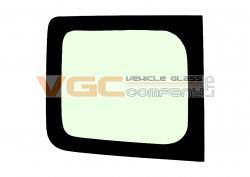 RENAULT TRAFIC 2001-2014 SWB Fixed Window Backlight Left Unheated Green