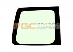 VW CADDY 2004-on Fixed Window Backlight Left Unheated Green