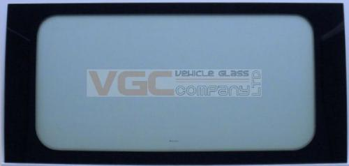CITROEN RELAY 06-ON LWB  Fixed Window Left Front Green