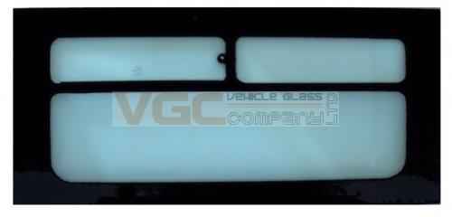 LDV MAXUS 2005 - 09LWB  Top Slider Window Right Front Green