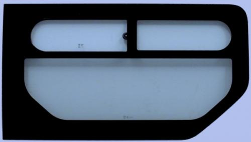 RENAULT TRAFIC 2001-2014 SWB Top Slider Window (No Right SLD) Right Front Green