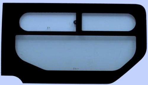 RENAULT TRAFIC 2001-2014 SWB Top Slider Window (With Right SLD) Right Front Green
