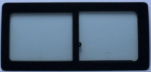 VW TRANSPORTER T4 91-03 LWB Half Slider Window Left Front Green