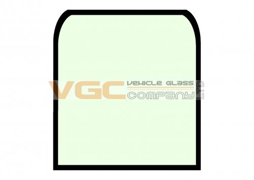 CASE CX160B FRONT SCREEN UPPER GREEN