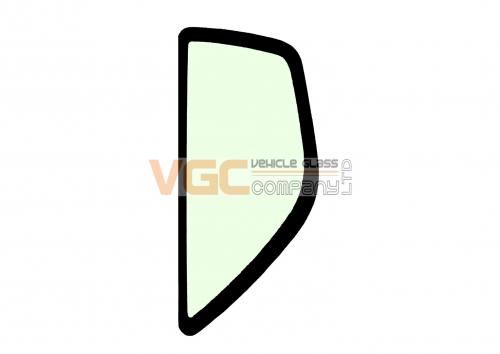 DOOSAN DX420LC-3 REAR QUARTER LEFT  Green - Tint