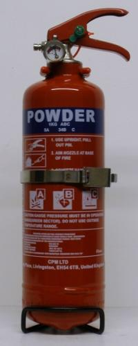 Vehicle Fire Extinguisher 1 Kg Powder