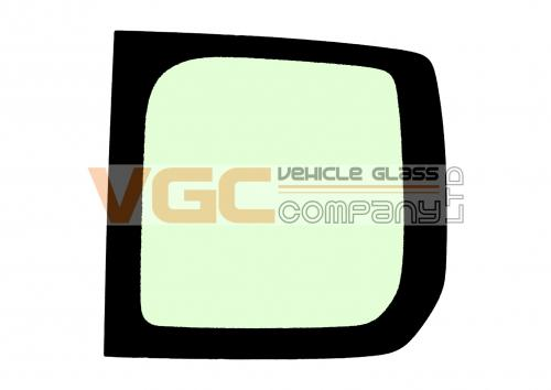 FIAT SCUDO 2007-2016 LWB Fixed Window Backlight Right Unheated Green