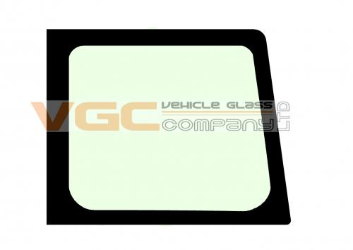 FORD TRANSIT 2000-14  Fixed Window Backlight Right Green