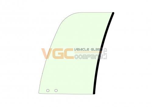 HYUNDAI R210-9 DOOR FRONT SLIDER  GREEN