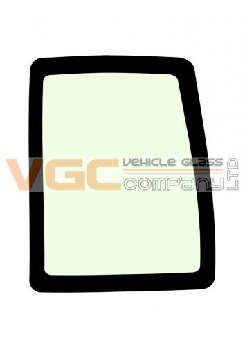 IVECO DAILY 1999-2014 MWB Backlight Fixed Window Right Unheated GREEN