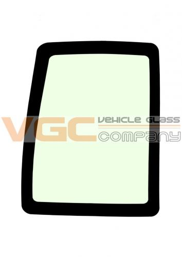 IVECO DAILY 1999-2014 SWB Backlight Fixed Window Left Unheated GREEN
