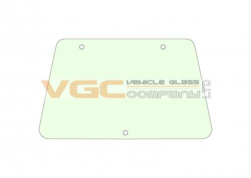 JOHN DEERE 6010 WINDSCREEN Green Fixed to s/n 223897