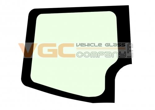 MERCEDES SPRINTER 2006-2018 MWB Fixed Window Backlight Left Unheated  Green