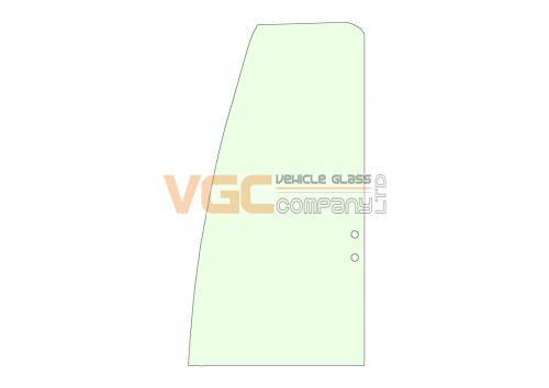 NEW HOLLAND E215B DOOR REAR SLIDER Green