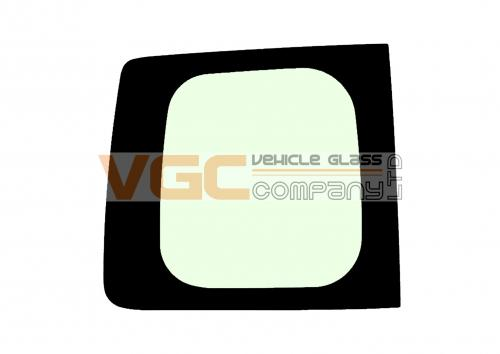 NISSAN NV200 Fixed Window Backlight Left Green