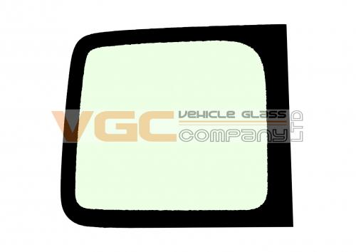 RENAULT MASTER 98-10 LWB Fixed Window Backlight Left Unheated Green