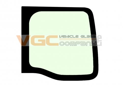RENAULT MASTER 98-10 MWB Fixed Window Backlight Right Unheated Green