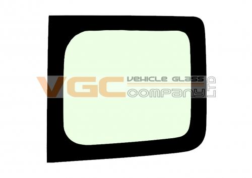 RENAULT TRAFIC 2001-2014 SWB Fixed Window Backlight Right Unheated Green