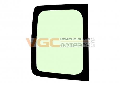 RENAULT TRAFIC 2001-2014 SWB Fixed Window High Roof Backlight Left Unheated High Roof Green
