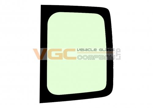 VAUXHALL VIVARO 2001-2014 LWB  Fixed Window High Roof Backlight Right Unheated High Roof Green