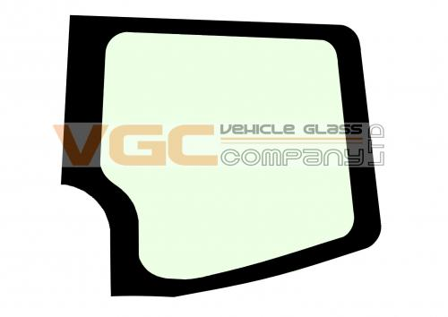 VOLKSWAGEN CRAFTER 2006-2017 XLWB Fixed Window Backlight Right Unheated Green