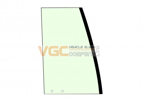VOLVO EC140C DOOR SLIDER REAR