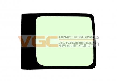 VW CADDY 2004-on SWB Fixed Window Right Front Green