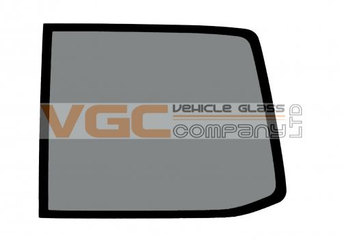 VW TRANSPORTER T5 2003-on LWB Fixed Window Backlight Right Privacy