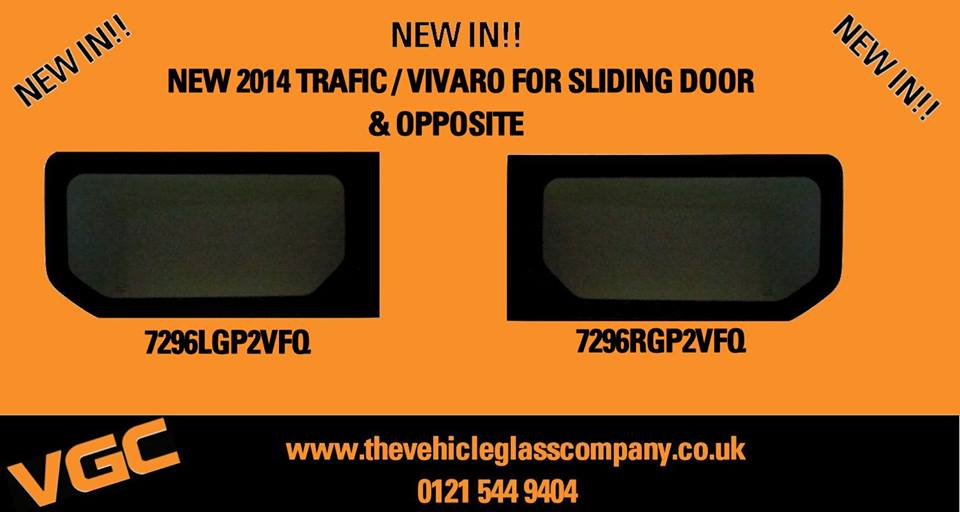 New Vivaro & Trafic Windows